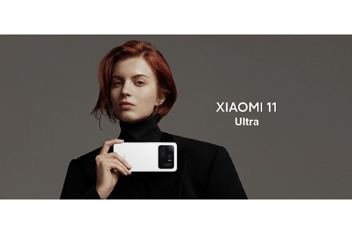 Xiaomi Mi 11 Ultra è stato presentato ufficialmente: uno smartphone top di gamma... da urlo