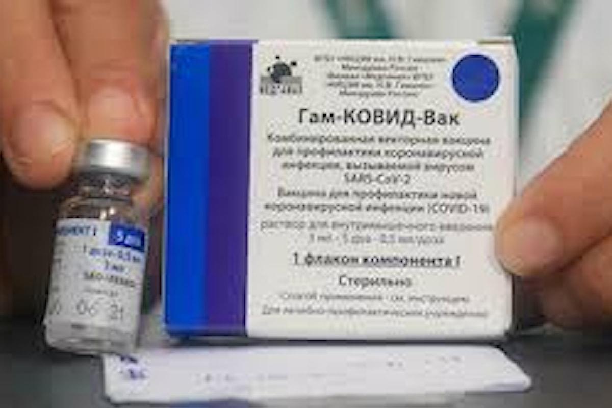 Presentata domanda all'Ema per valutare il vaccino Sputnik del gruppo farmaceutico russo R-Pharm