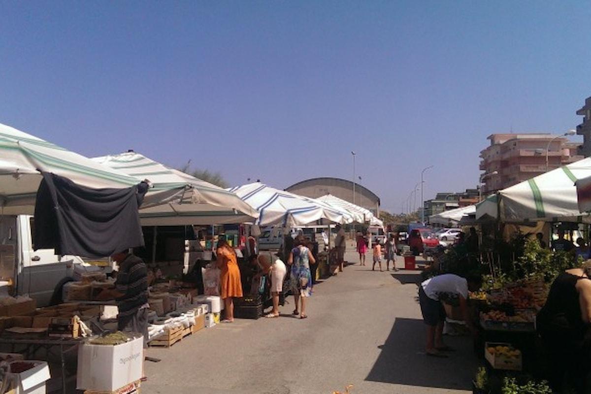 Milazzo (ME) - Giovedì riapre il mercato settimanale di Ponente