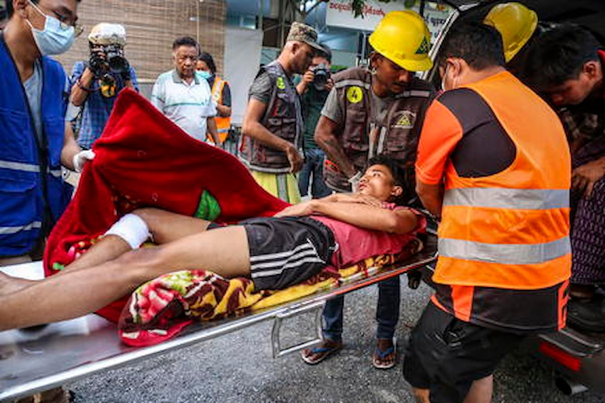 Myanmar: il totale delle vittime sale a 126