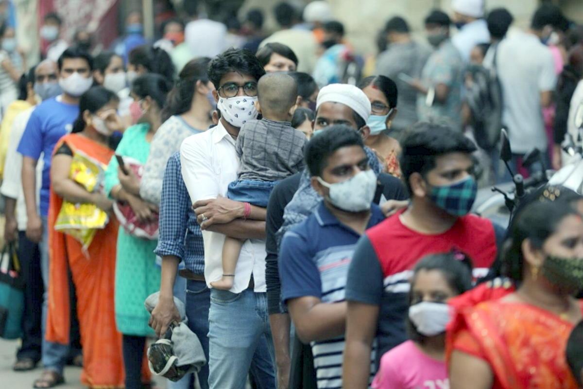 Covid in India, raggiunti i 13,5 milioni contagi