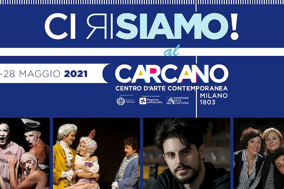 Teatro Carcano riapre:CI RISIAMO!