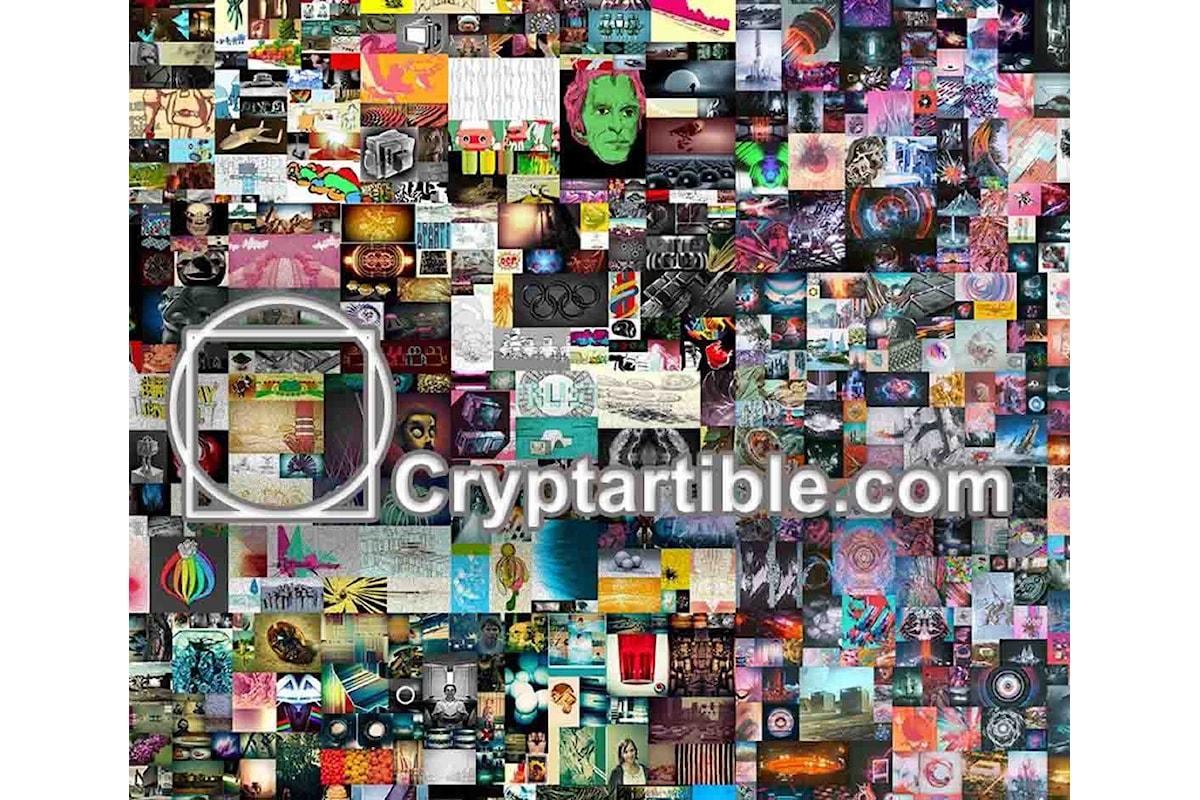 Nasce in Italia Cryptartible.com la prima piattaforma di consulenza e vendita di #NFT tra artisti e privati
