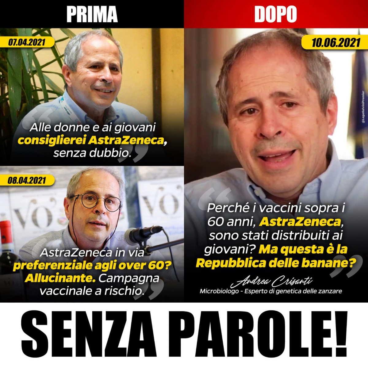 Ecco perché sulla vicenda AstraZeneca Salvini ha dimostrato di essere un leader da repubblica delle banane