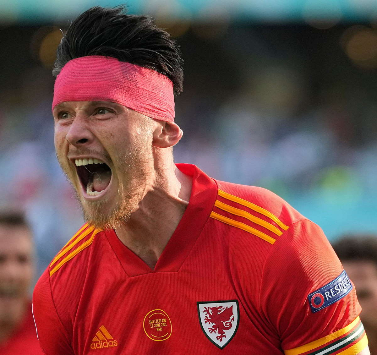 Finisce in parità 1-1 tra Galles e Svizzera l'altra sfida del Gruppo A per Euro 2020
