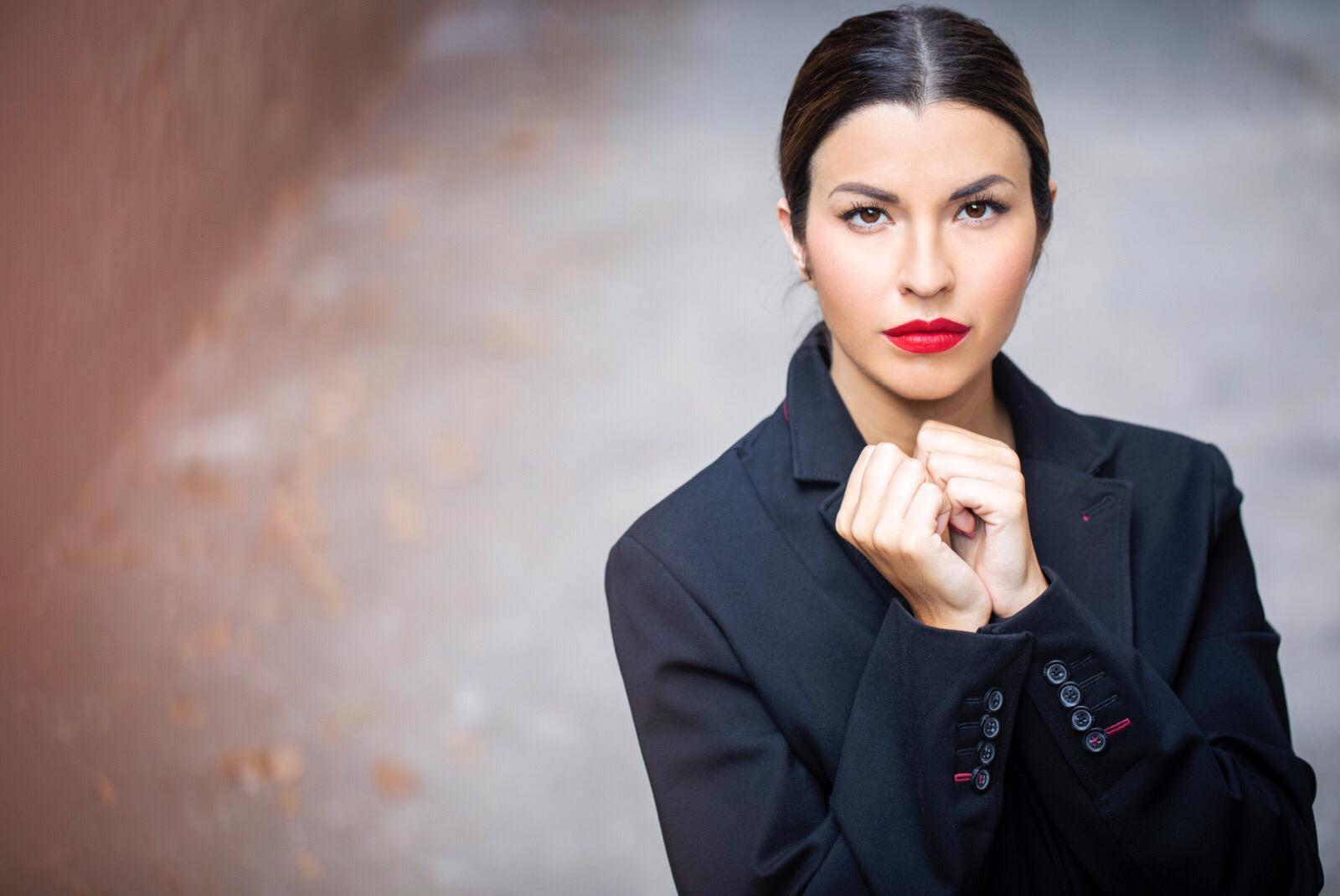 Claudia Conte presentatrice e madrina d'onore della cerimonia di chiusura del Ferrara Film Festival 2021