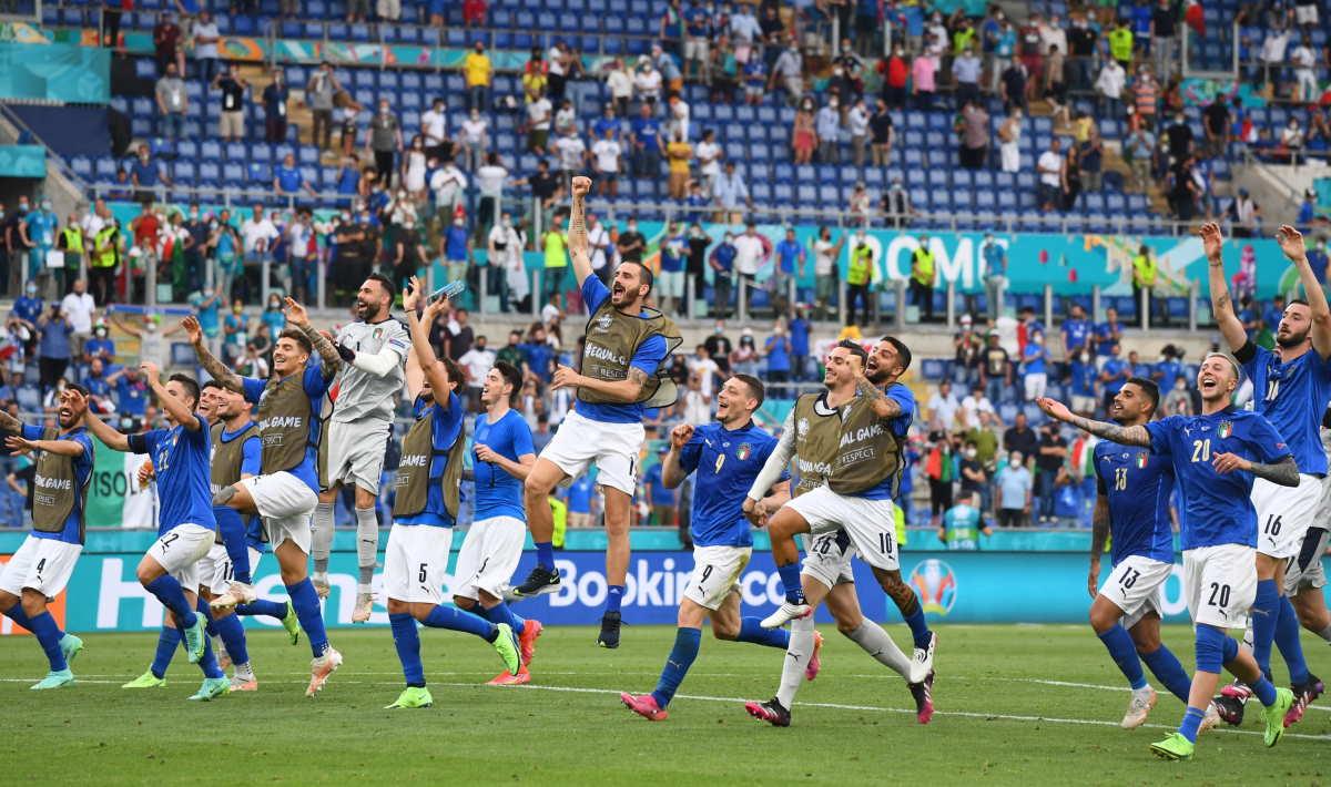 Euro 2020, l'Italia batte il Galles 1-0 e passa la fase a gironi a punteggio pieno