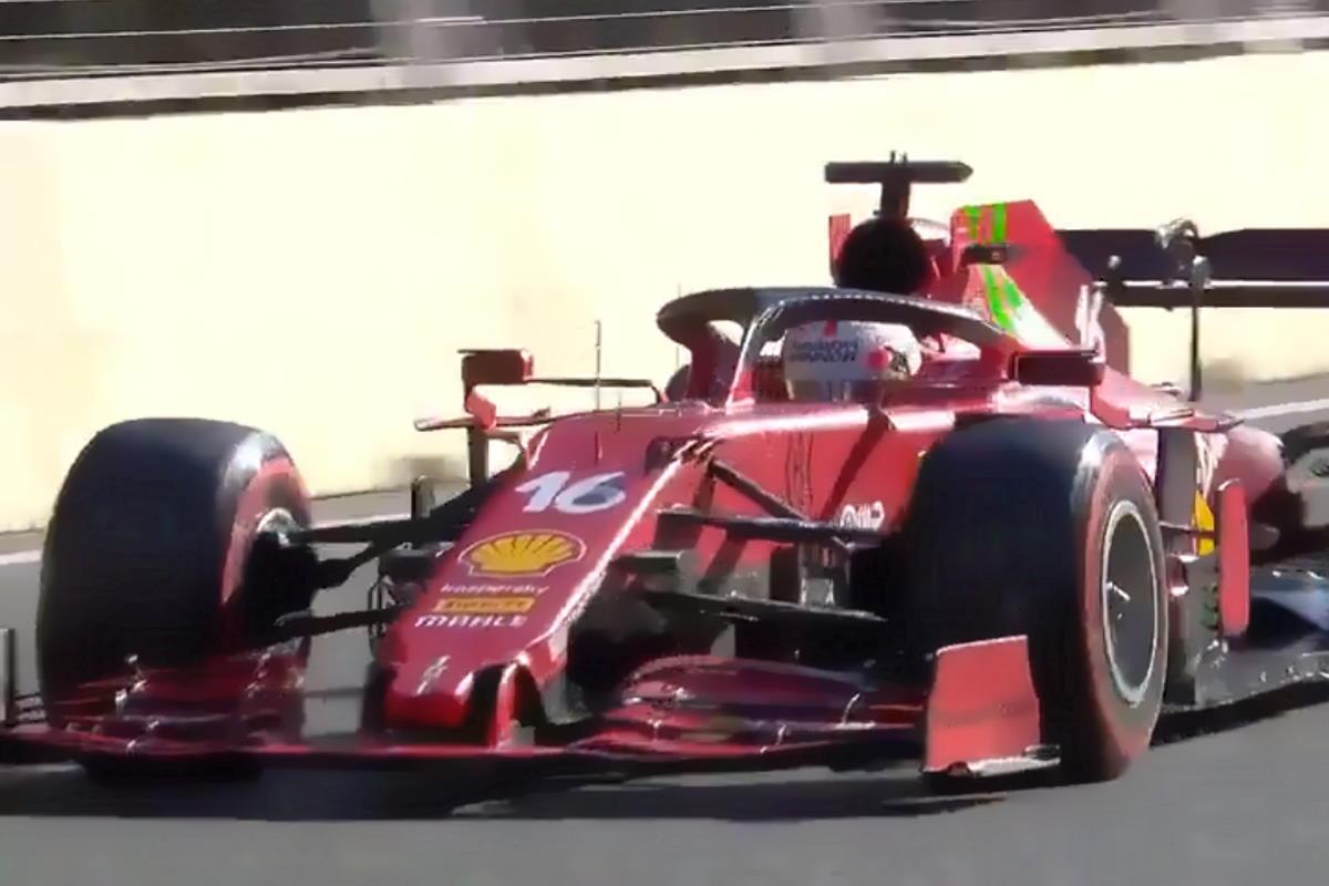 Formula 1, Leclerc conquista la pole anche nel GP dell'Azerbaigian