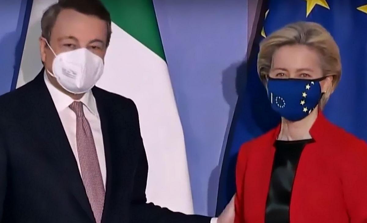 La Commissione Ue dà il via libera al Pnrr di Draghi e a breve arriveranno in Italia già 25 miliardi di euro