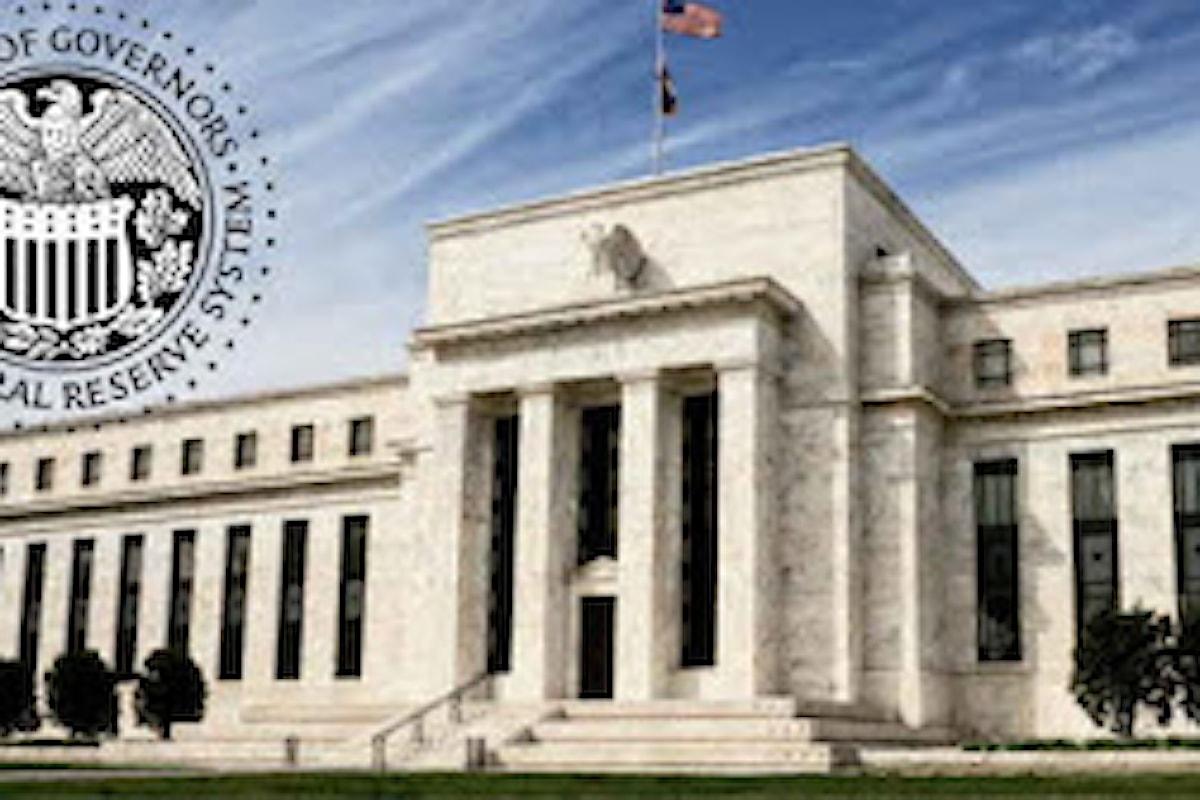 Monetary policy, per adesso nessuno ha intenzione di mettersi sulla scia della FED