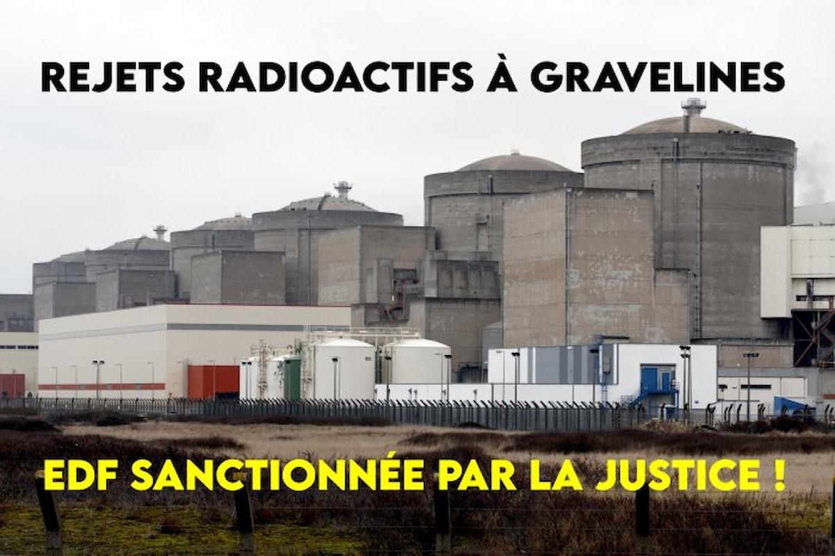 Scarichi incontrollati alla centrale nucleare di Gravelines: EDF sanzionata dai tribunali francesi