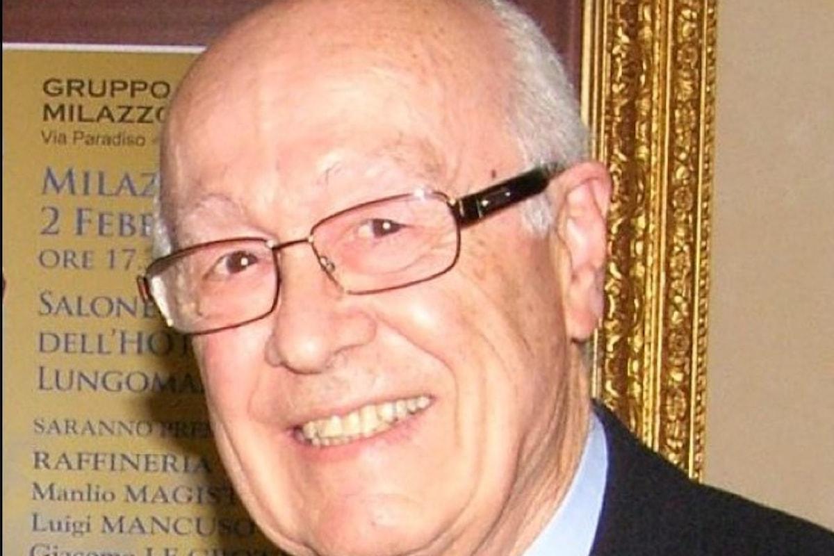 Milazzo (ME) – Cordoglio per la scomparsa del prof. Franco Lampone