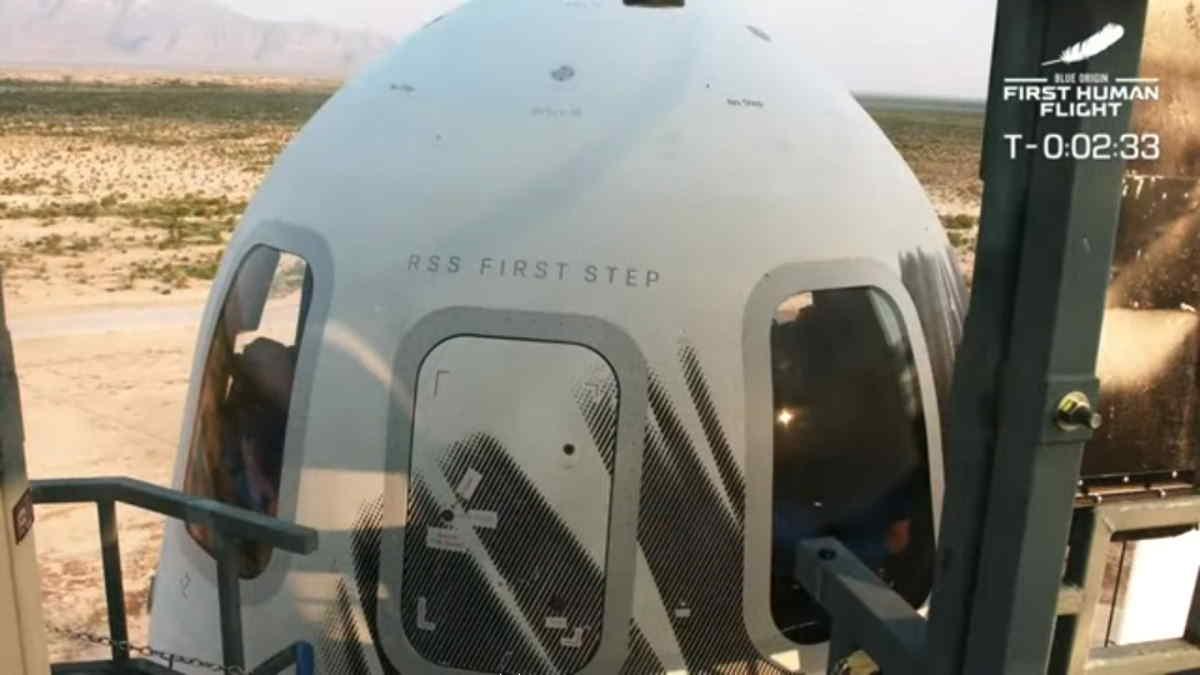 Si è concluso con successo il voletto inaugurale della New Shepard