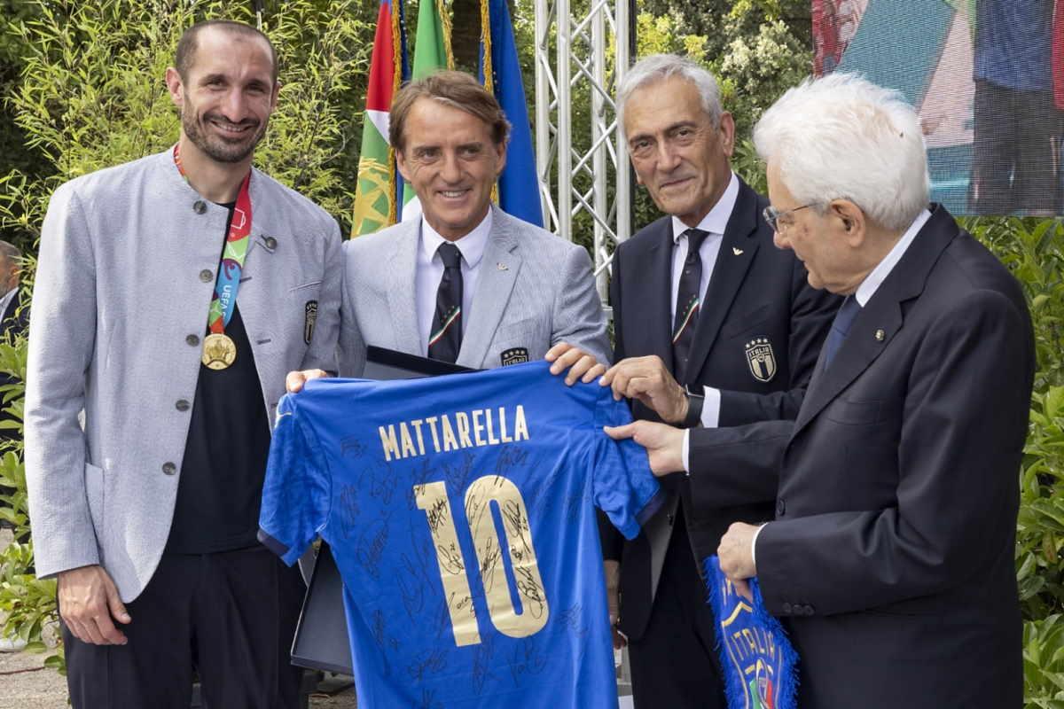 I complimenti alla Nazionale e a Berrettini di Mattarella e Draghi
