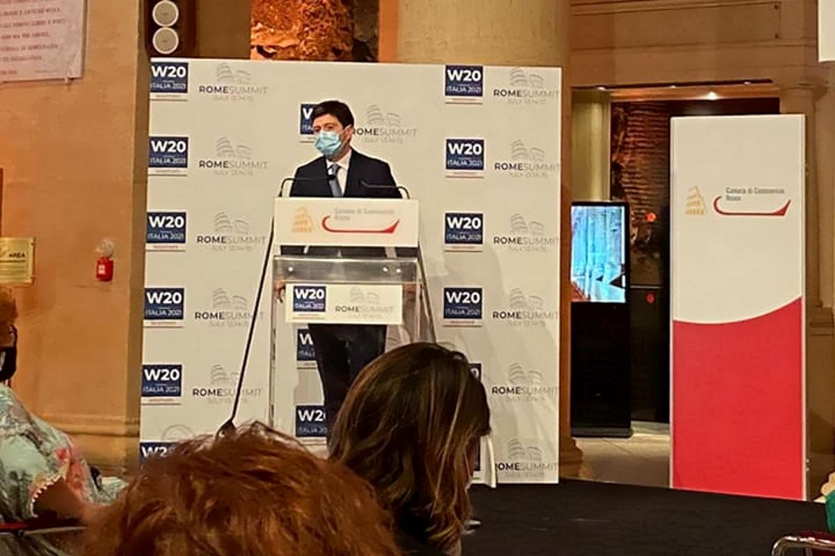Roberto Speranza al W20 - Women 20: Siamo ancora dentro una epidemia terribile