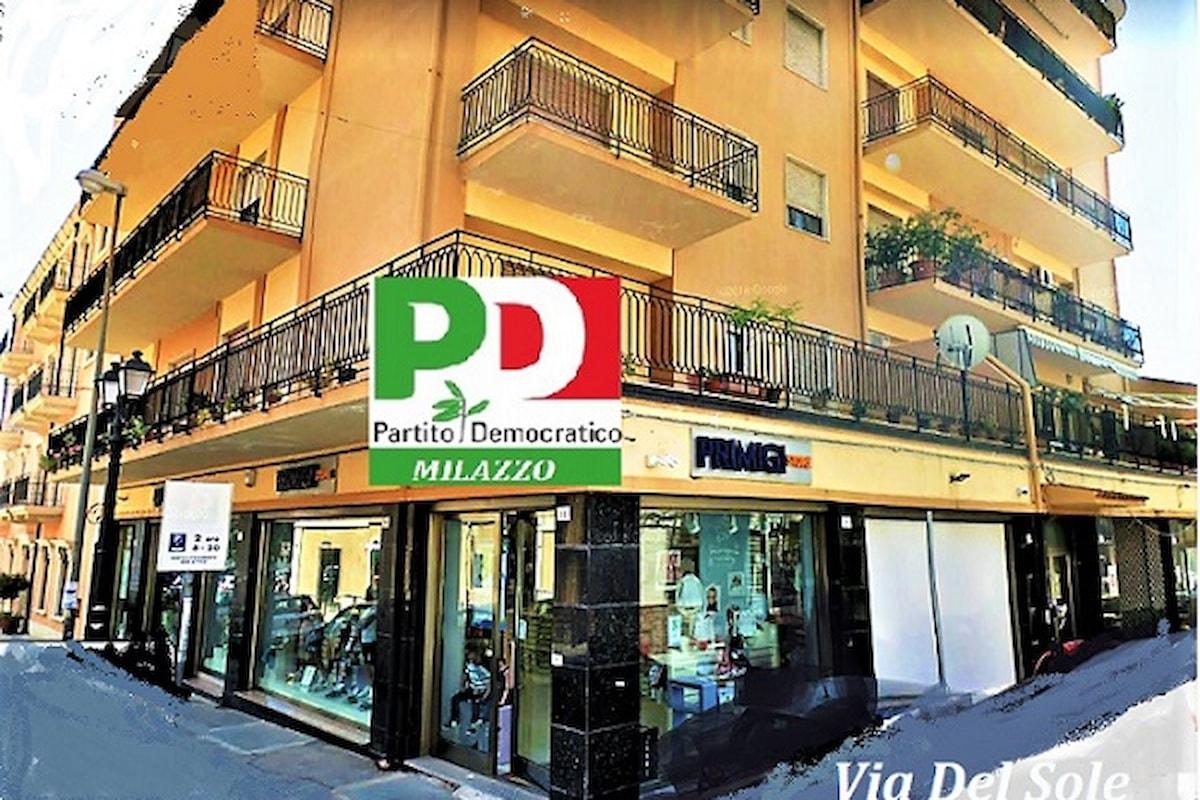 Milazzo (ME) - Taglio del nastro per la nuova sede del Circolo PD