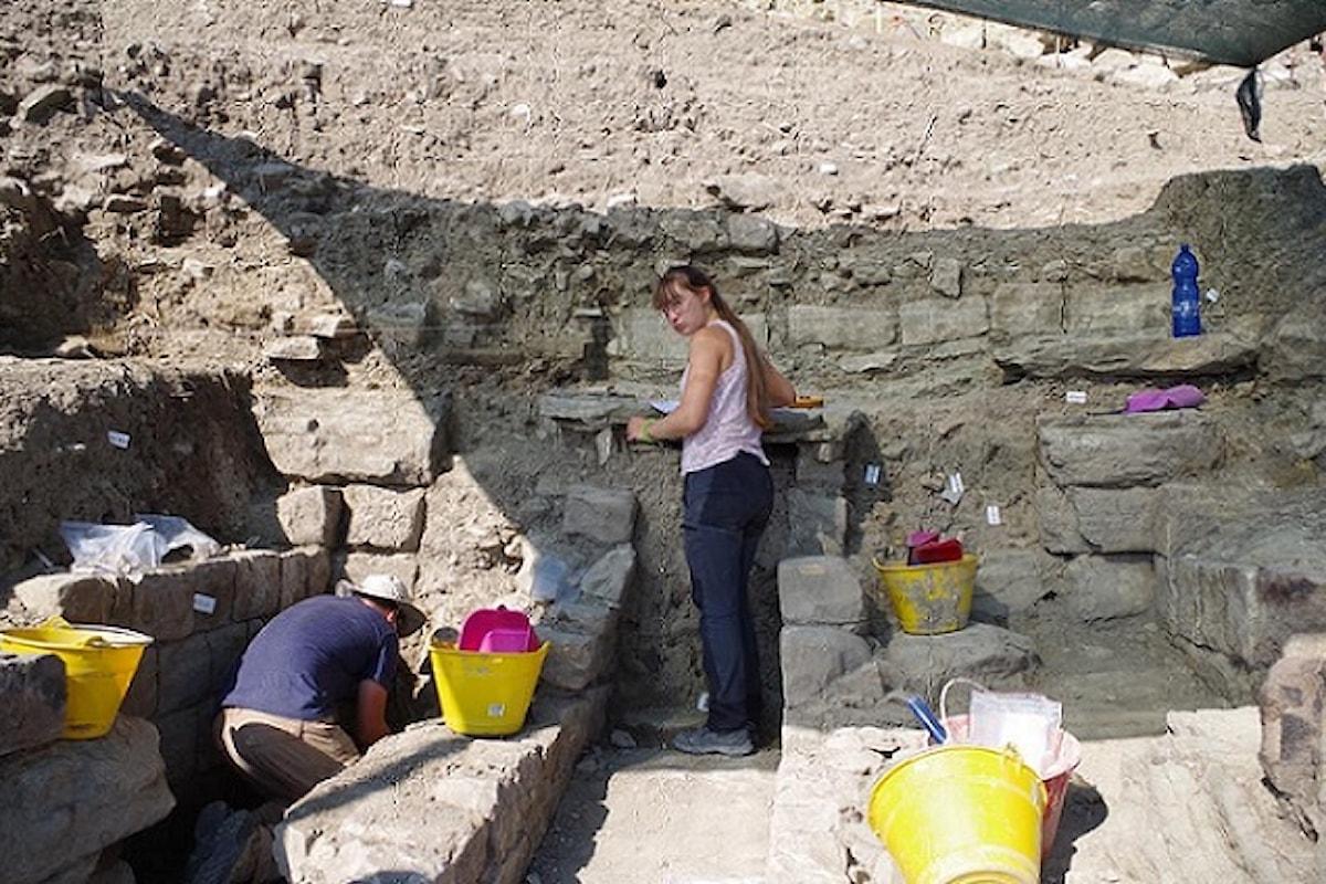 Palermo – Scoperto il monumentale muro di accesso al Teatro di Halaesa Arconidea
