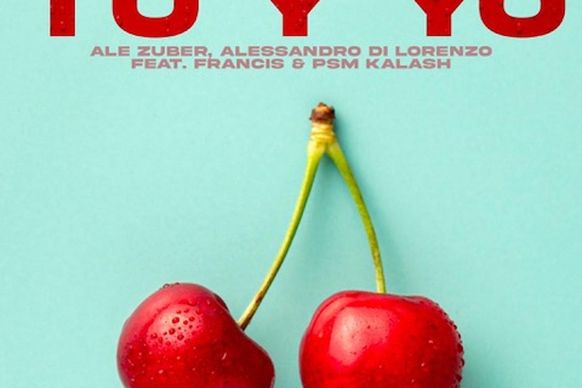 Ale Zuber, Alessandro Di Lorenzo Feat Francis & Psm Kalash, ci si scatena con Rhythm Is A Dancer (Tu Y Yo) / Intercool Digital