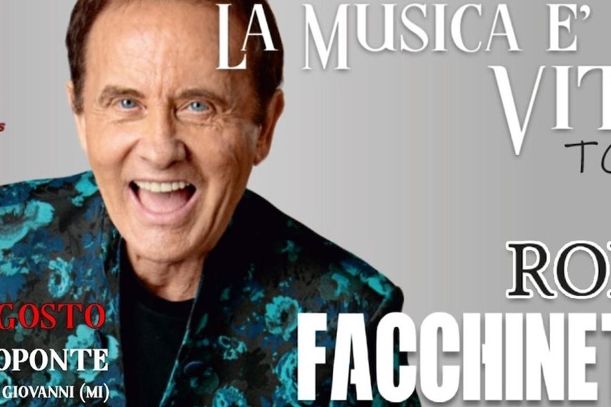 Roby Facchinetti al Carroponte di Sesto San Giovanni (MI), 28 agosto 2021