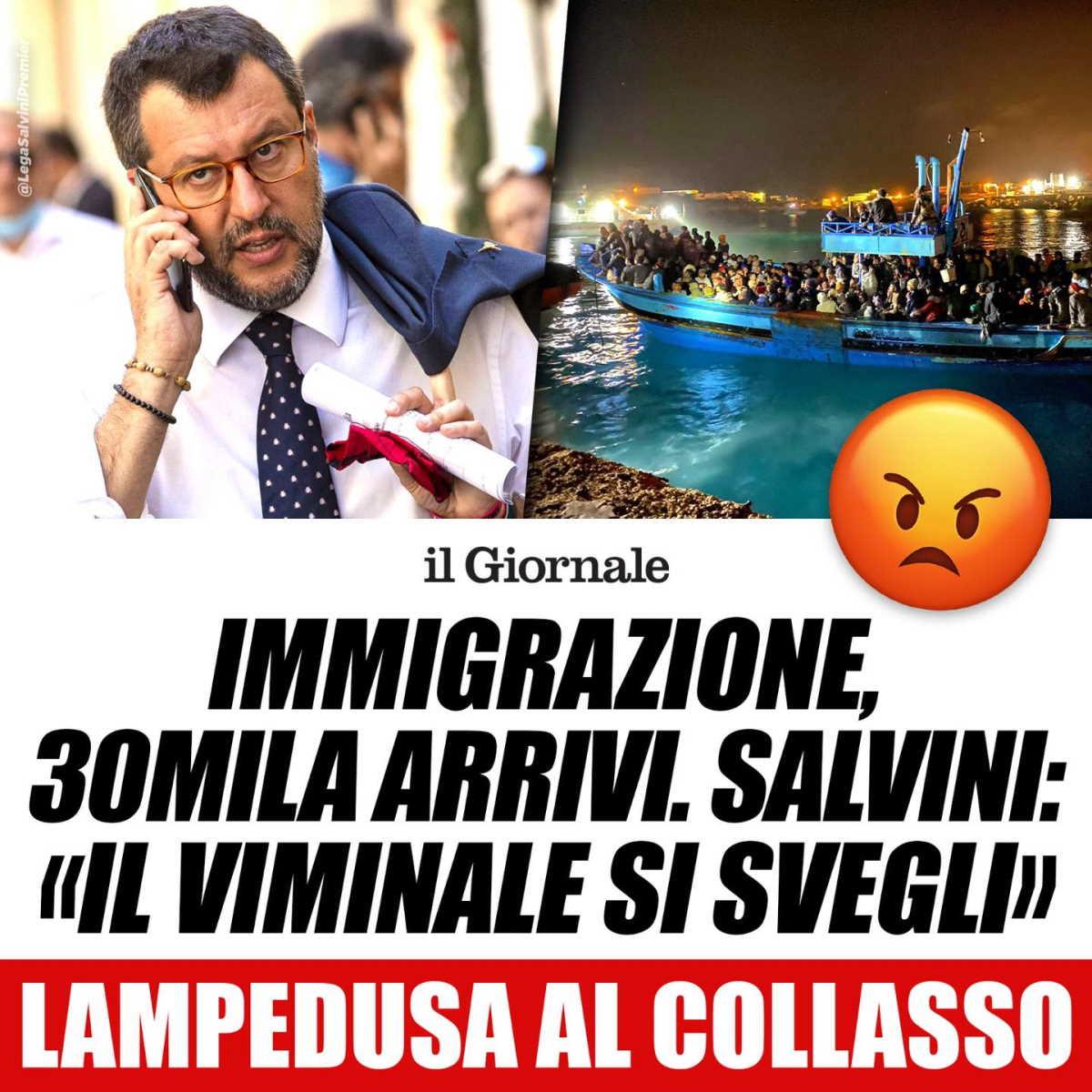 Salvini vs Lamorgese: la Lega deve recuperare consensi