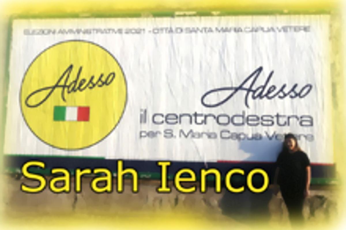 Sarah Ienco - Amministrative 2021