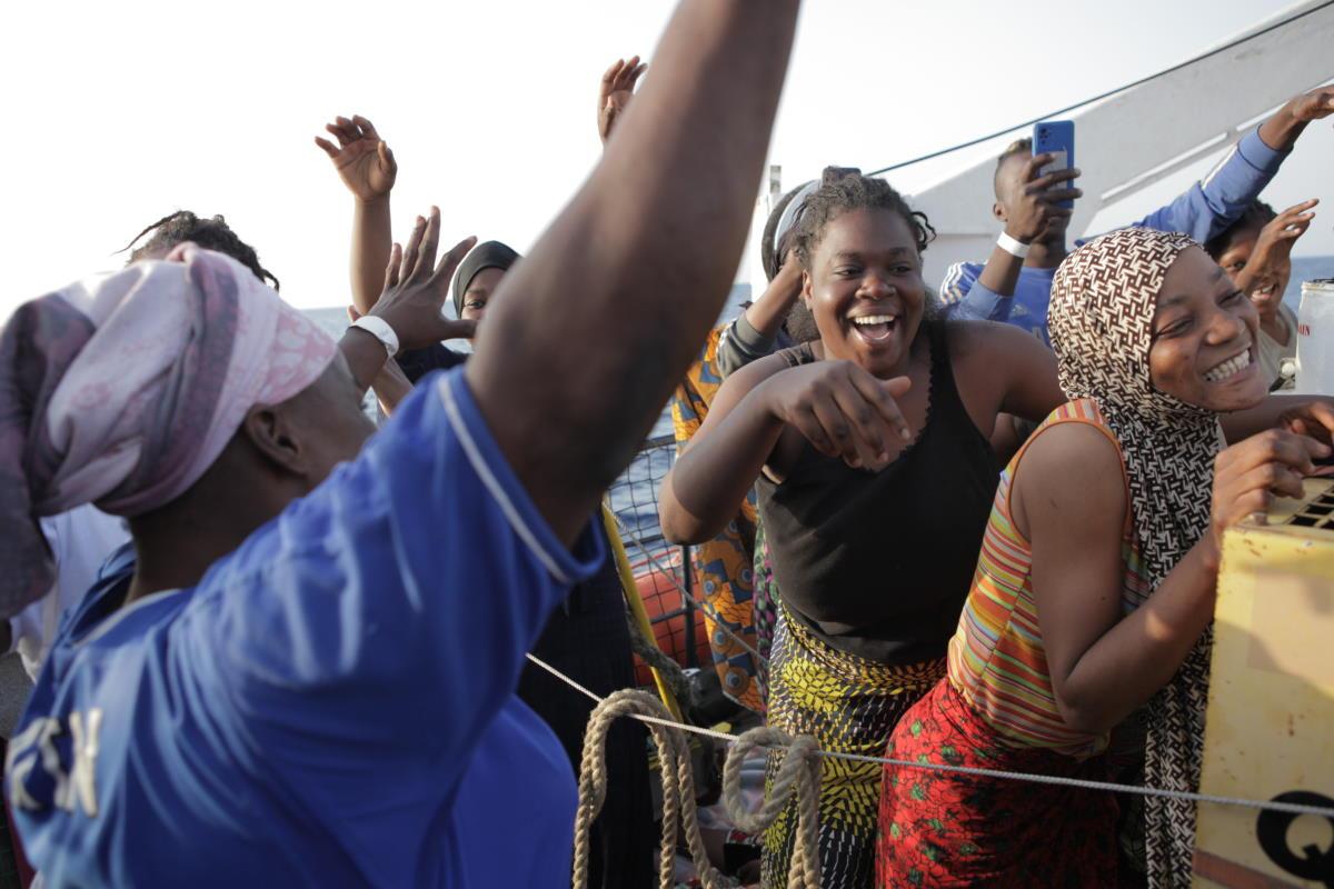 Si è conclusa mercoledì nel porto di Augusta la prima missione della ResQ People