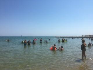 Giornata impegnativa oggi 16 Agosto per i Bagnini della Riviera Pescarese
