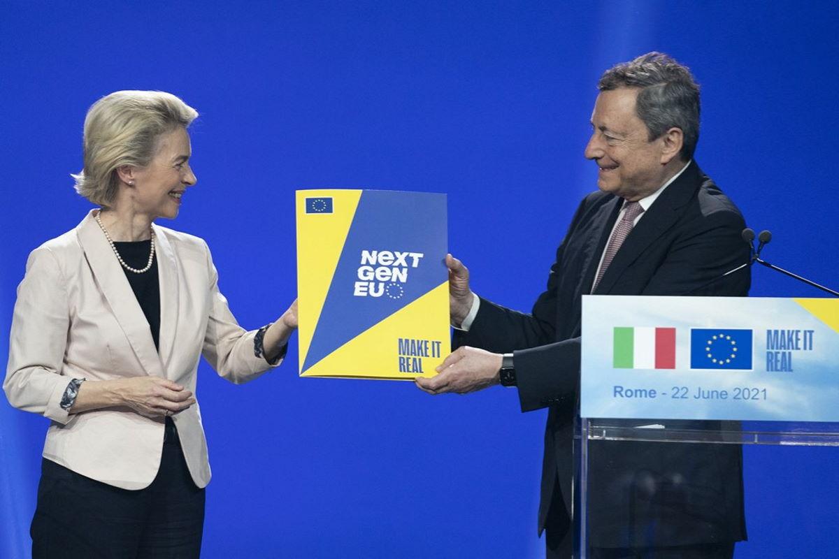 Pnrr, la Commissione Ue ha staccato un primo assegno all'Italia da 25 miliardi di euro