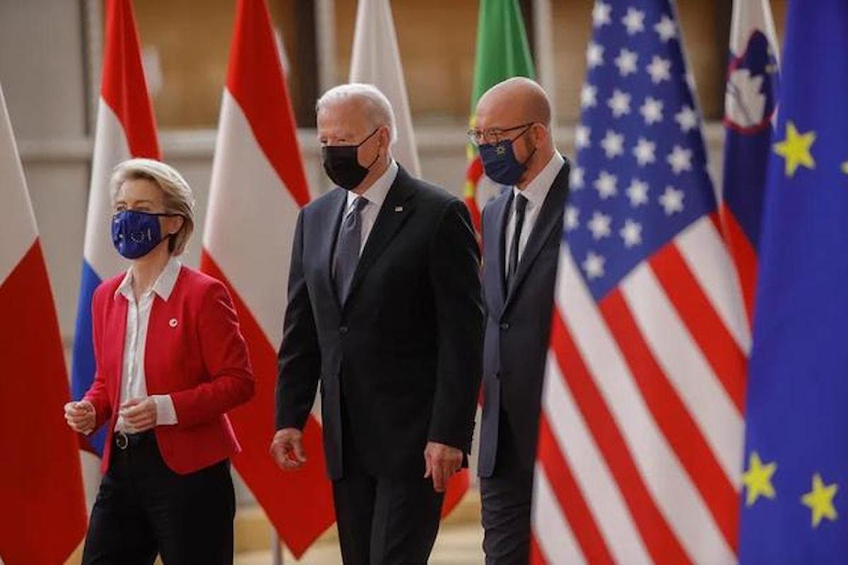 Il vertice Stati Uniti - Ue e le accuse contro la Repubblica Popolare Cinese