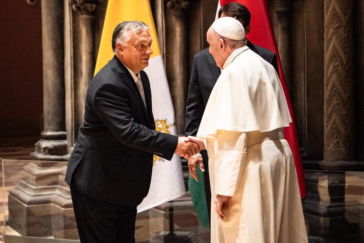 Il Papa incontra Orban per parlare di chiesa, famiglia e ambiente