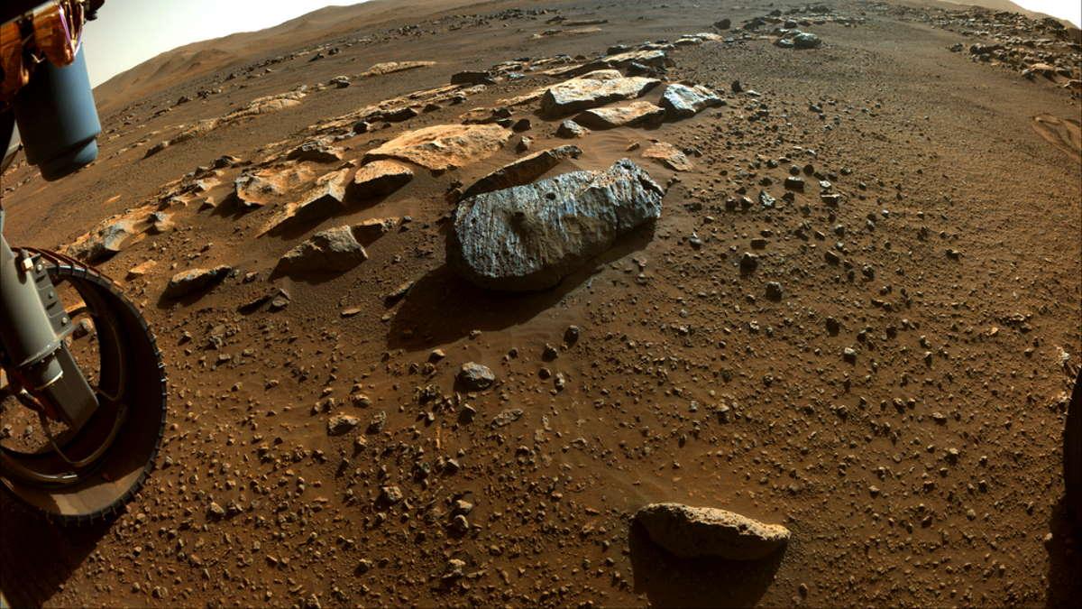 Sembra che i primi campioni di roccia prelevati da Marte rivelino la presenza di un ambiente potenzialmente abitabile