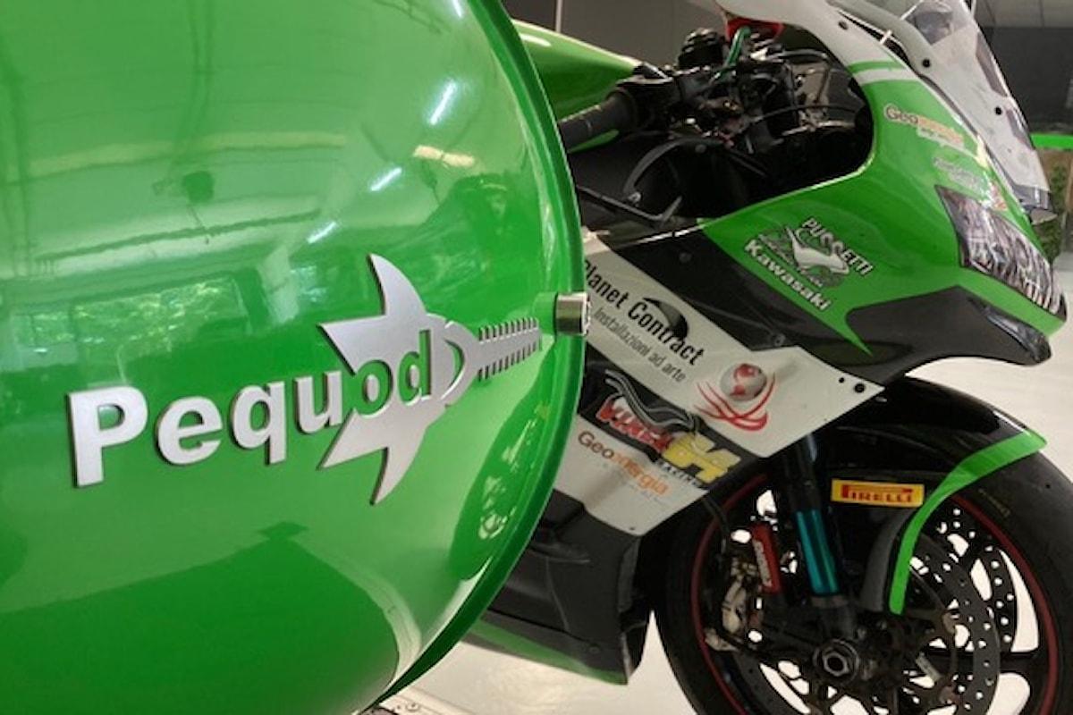 Pequod Acoustics al Superbike Championships assieme a Kawasaki Puccetti Racing