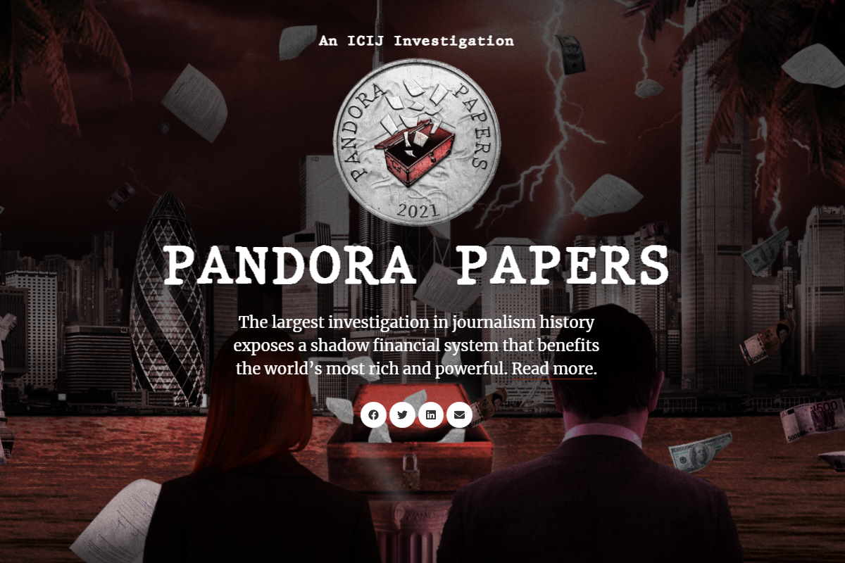 Dai Panama Papers ai Pandora Papers: ecco chi maschera i propri beni con società di comodo...