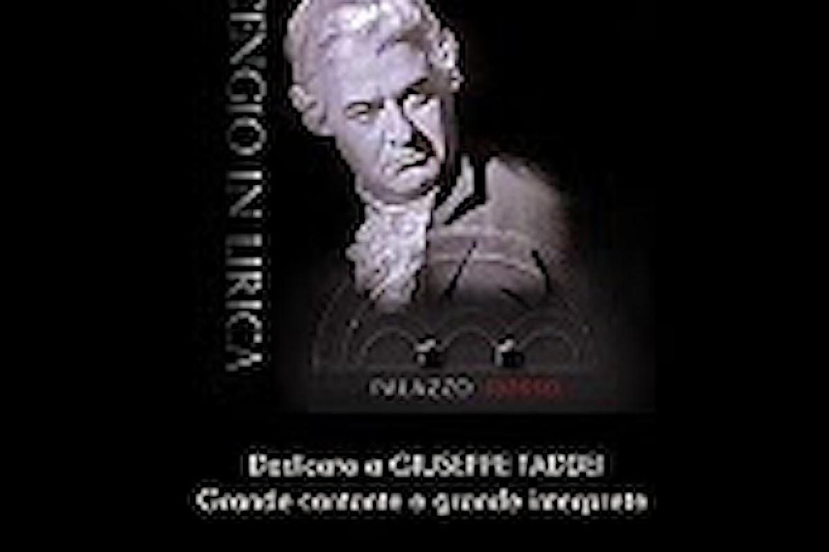 """AUDIZIONE/CONCORSO INTERNAZIONALE DI CANTO LIRICO """"CENGIO IN LIRICA""""."""