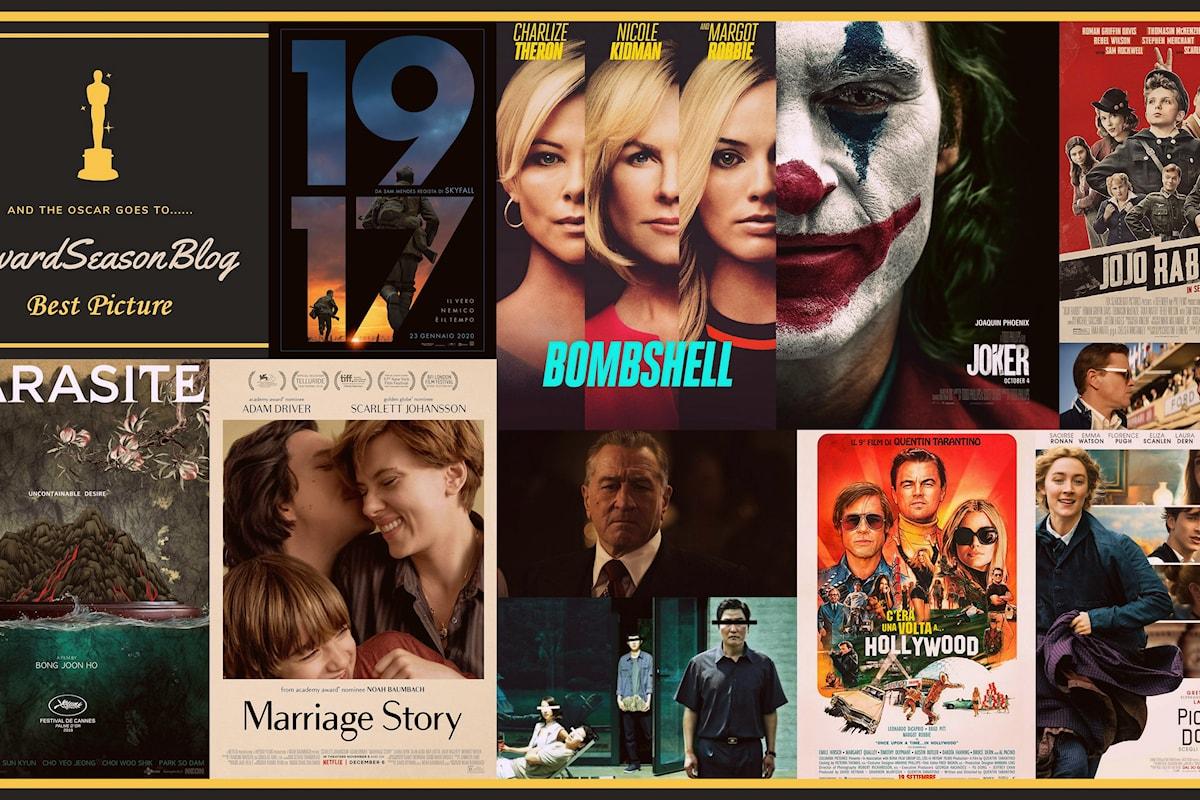 Quali sono i film favoriti per le nominations agli Oscars 2020? (previsioni dicembre)