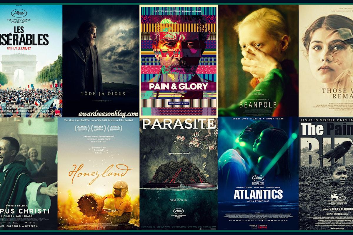 Oscars 2020 Miglior Film Internazionale: la short list dei semifinalisti. Parasite in vetta, l'Italia esclusa