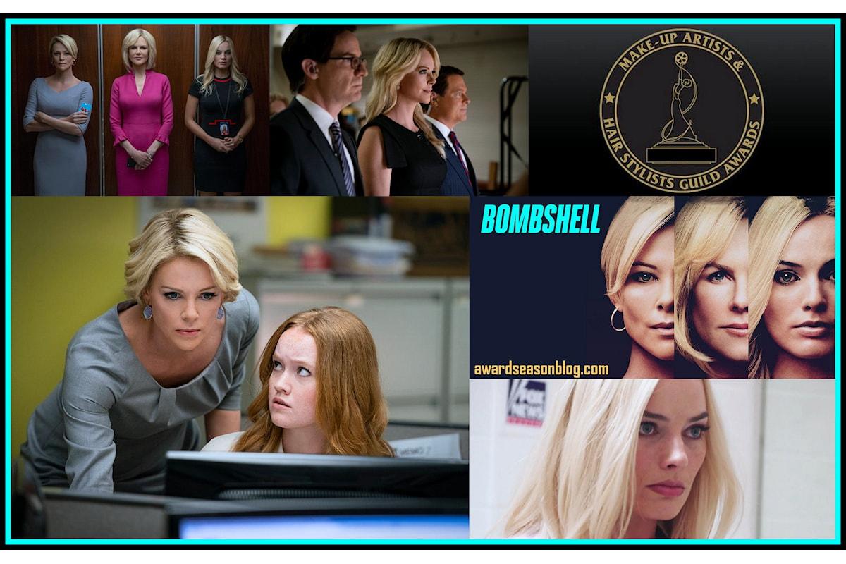 Bombshell conquista 3 MUAHS Awards e punta agli Oscar per il miglior trucco e parrucco