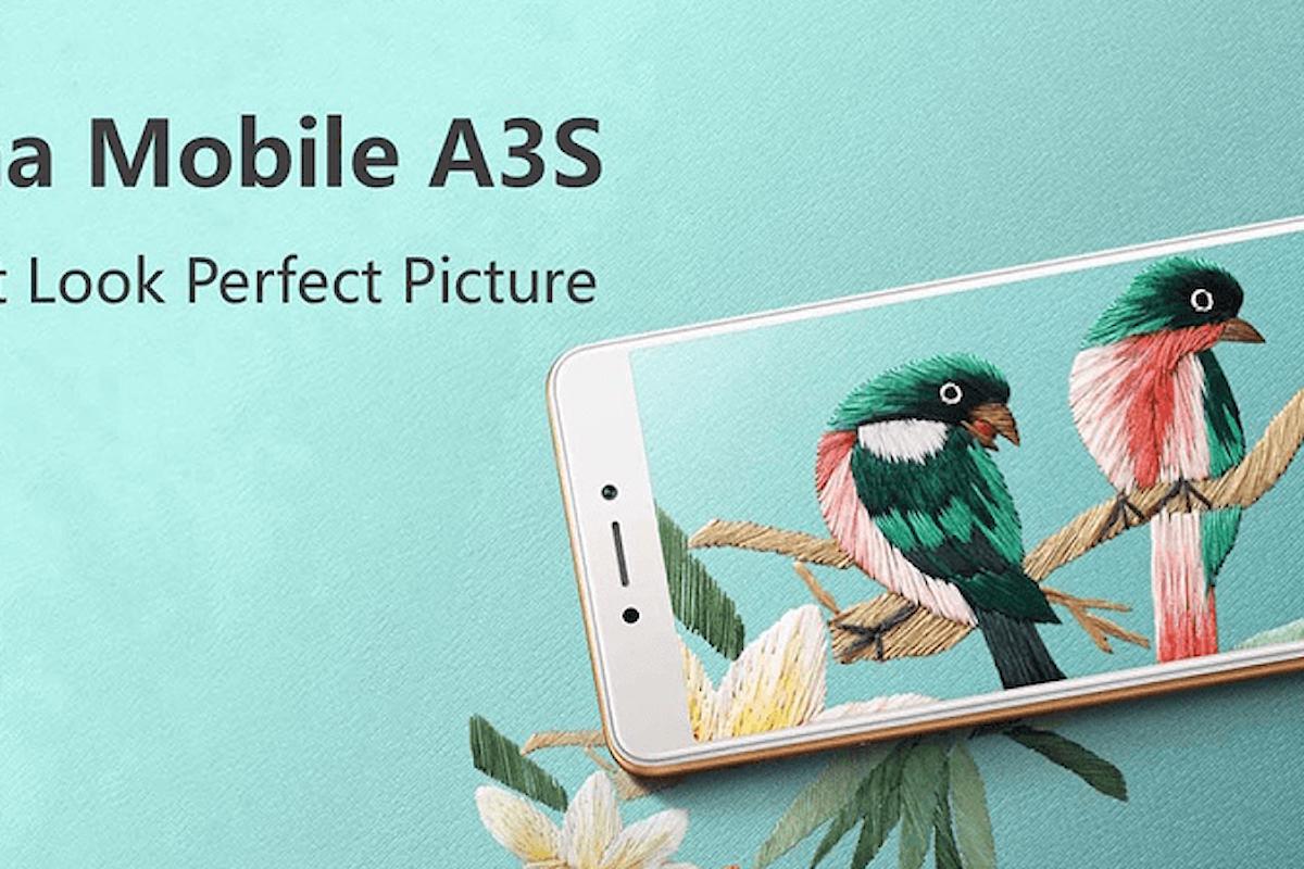 China Mobile A3s, smartphone low-cost con supporto reti 4G e CPU Qualcomm