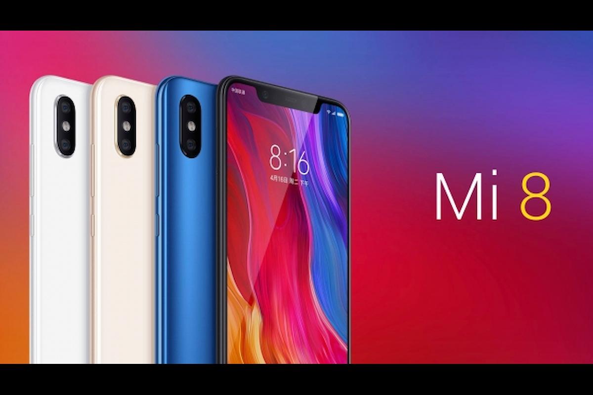 Xiaomi Mi 8 è stato presentato ufficialmente: un iPhone X con Android