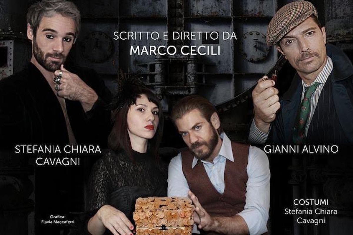 Luca Capuano e Ludovico Fremont in La fabbrica dei bottoni di sughero. Teatro Cyrano dal 25 al 28 gennaio 2018