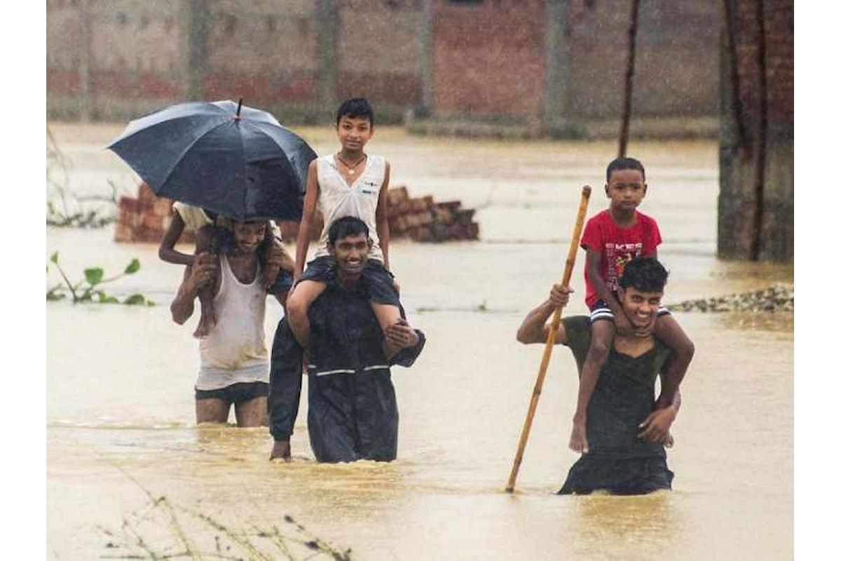 UNICEF, in Asia meridionale 45 milioni di persone colpite da enormi inondazioni che hanno causato almeno 1.288 morti