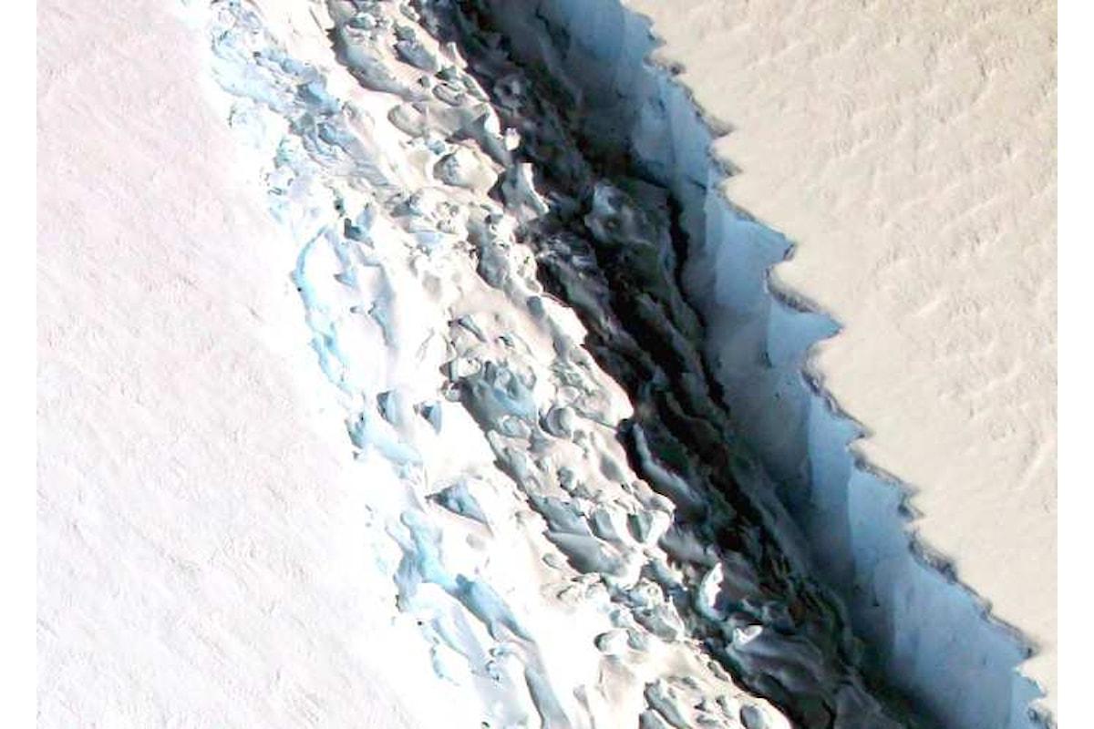 In Antartide si è staccato un iceberg di 6000 kmq dalla calotta polare
