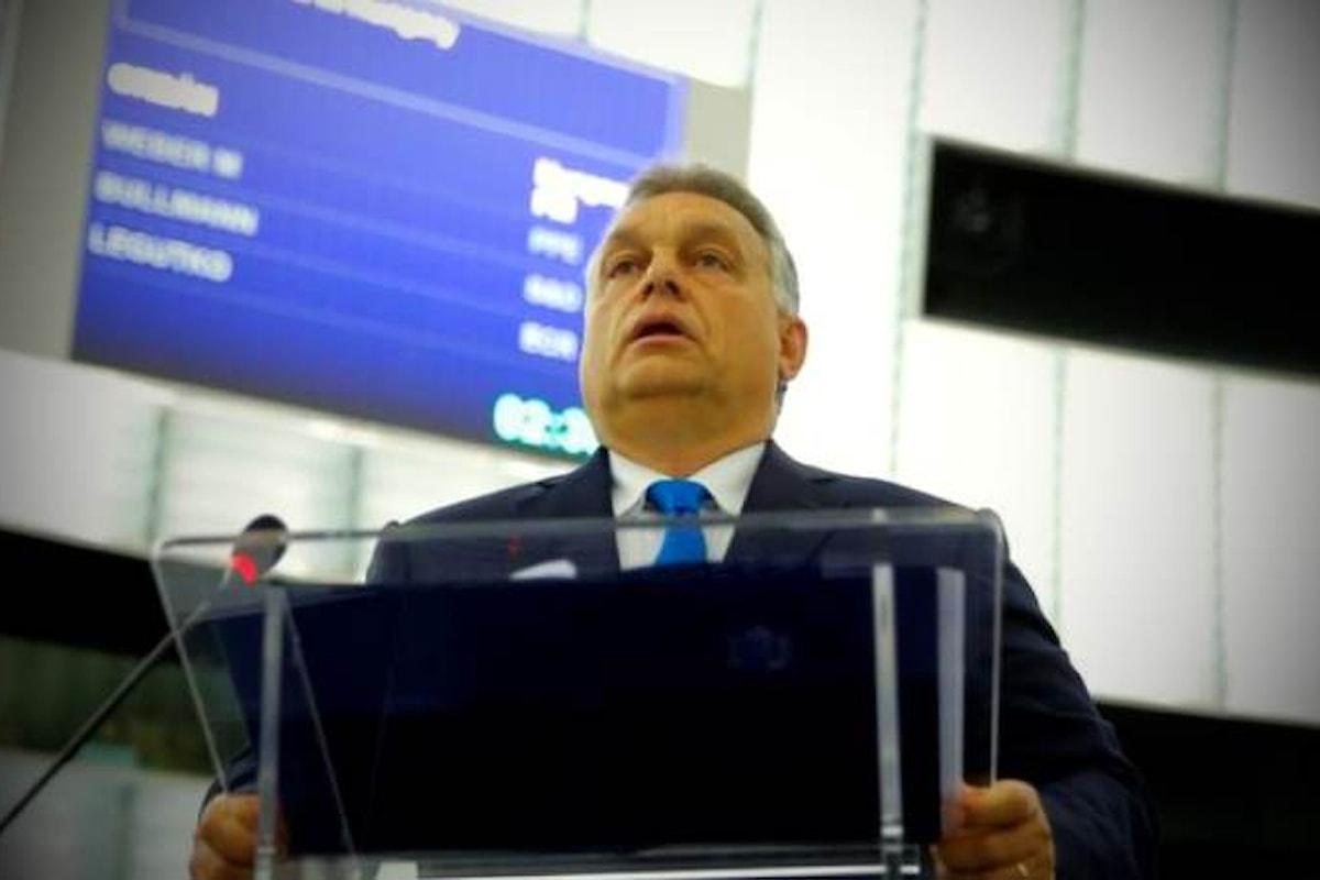 Orban all'attacco dell'Europa per difendere la sua Ungheria in cui lo stato di diritto è ritenuto a rischio