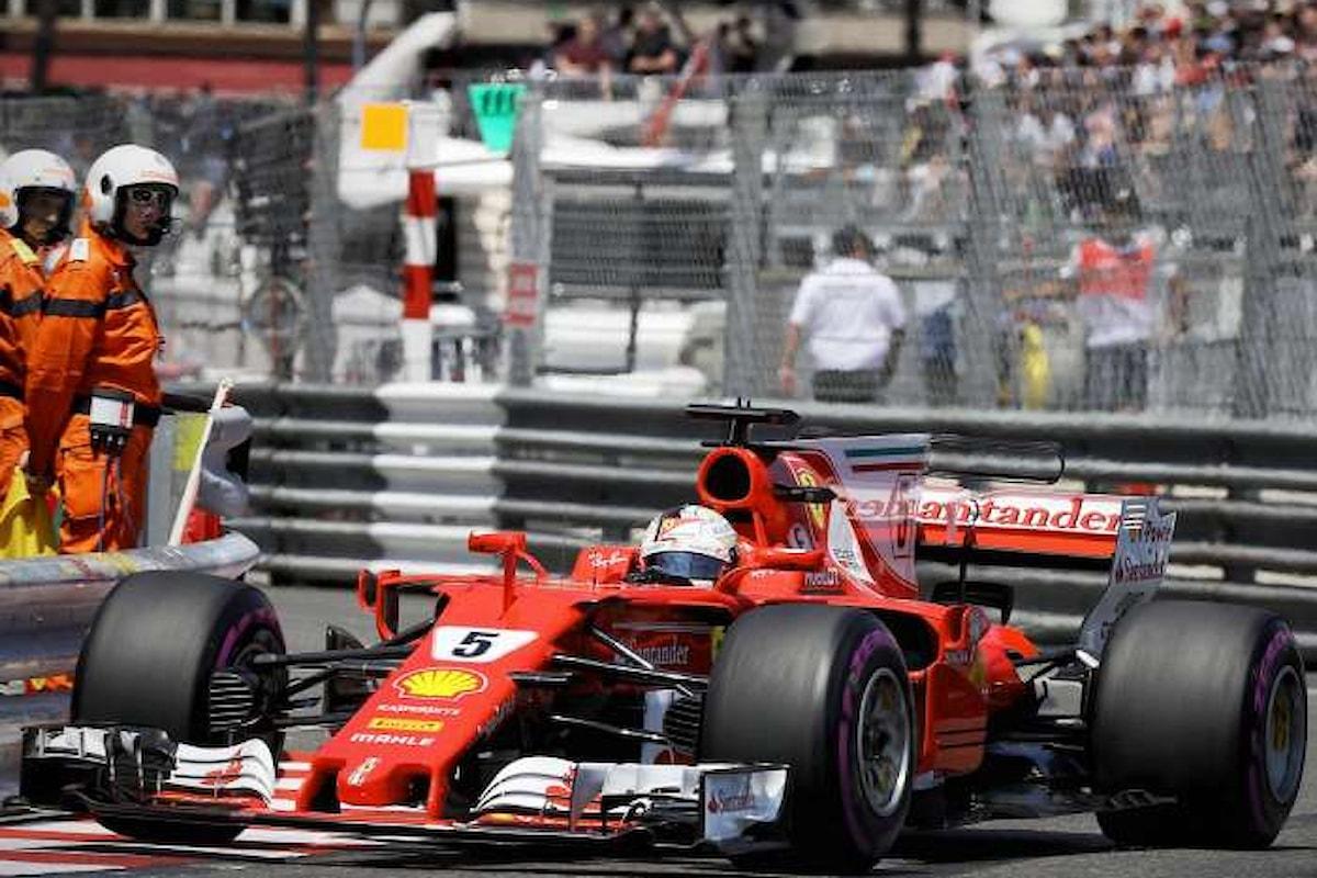 Doppietta Ferrari. Vettel vince il GP di Monaco 2017 su Raikkonen
