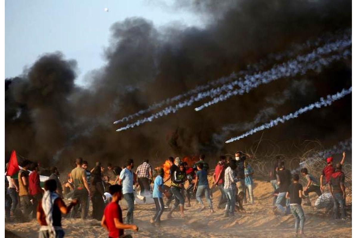 Sette i palestinesi uccisi a Gaza venerdì 12 ottobre per la Marcia del Ritorno