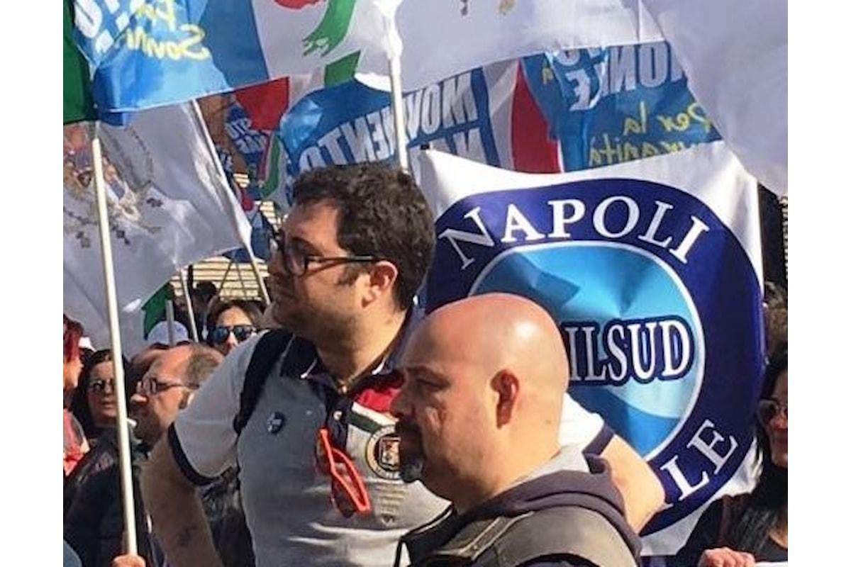 Napoli, continua la protesta dei lavoratori dell'Auchan di via Argine