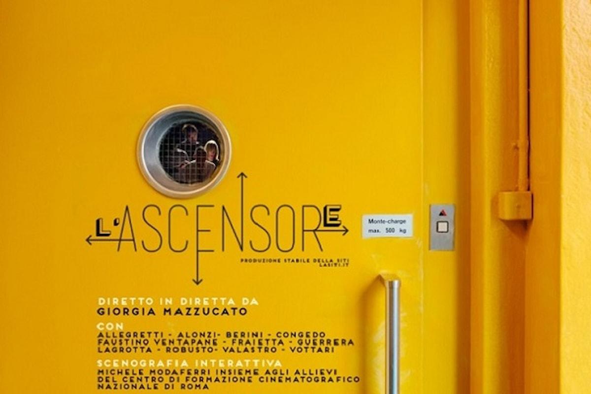 In scena alla Fonderia delle Arti L'Ascensore, il nuovo spettacolo interattivo de La Siti