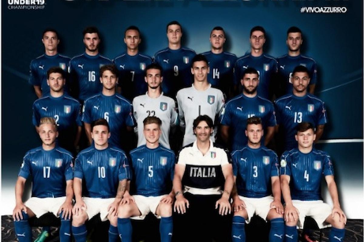 L'Italia Under 19 perde la finale con la Francia, resta l'ottimo torneo disputato