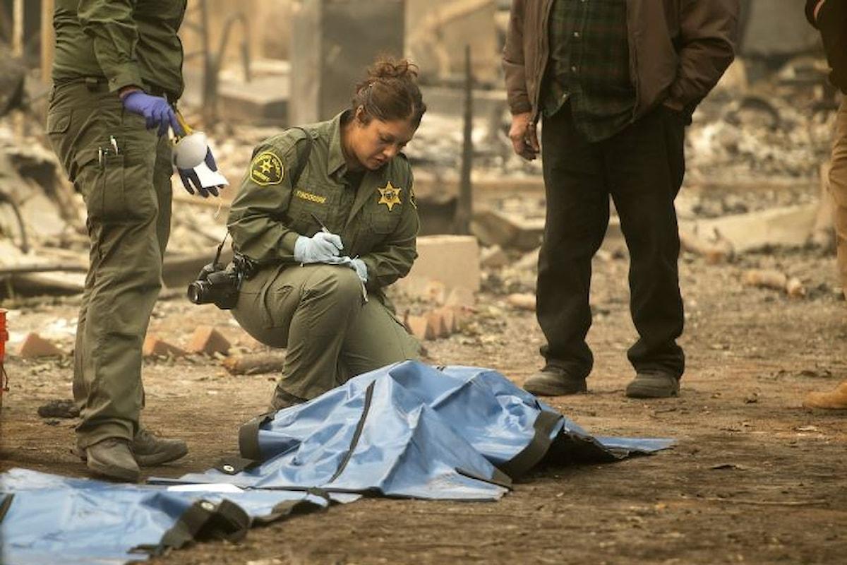 È arrivato a 56 il numero delle vittime del Camp Fire, 130 i dispersi
