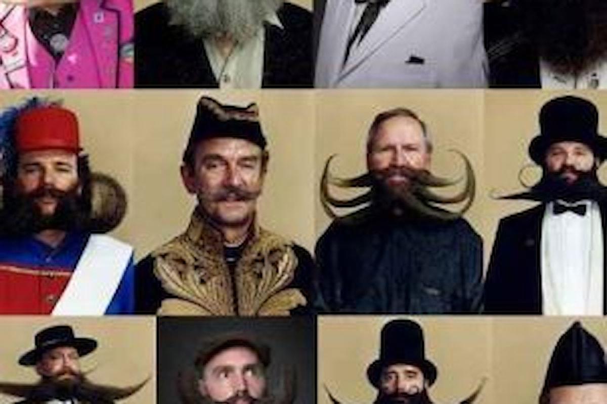 Le barbe e i baffi più strani del mondo 2016